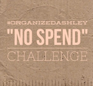 No Spend February Challenge