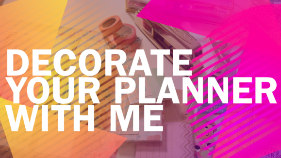 Plan With Me: What To Write In Your Paper Planner